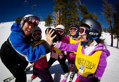 Squaw Walley's Kids Mountain Camp -
