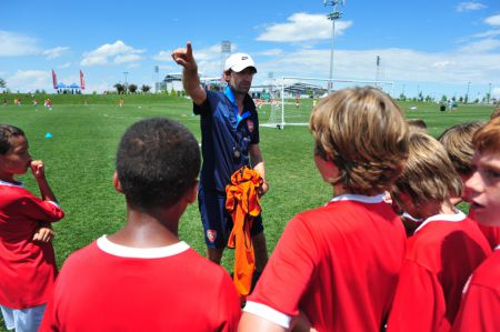 Arsenal FC Soccer Camp - New Jersey - Soccer Camps