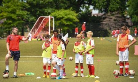 Arsenal Soccer Schools Campus Residencial (New Jersey & Connecticut) - Soccer Camps